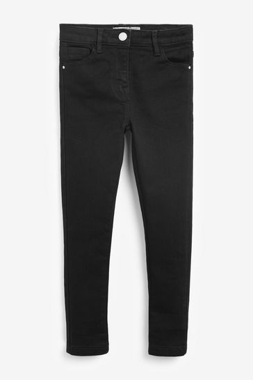 Black Slim Fit Skinny Jeans (3-16yrs)