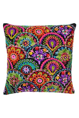 Neon Fans Cushion by Riva Home