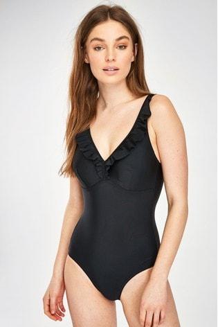 Speedo Ruffle Swimsuit