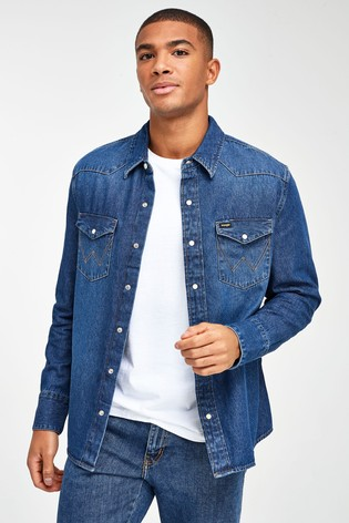 Wrangler Icons Denim Shirt