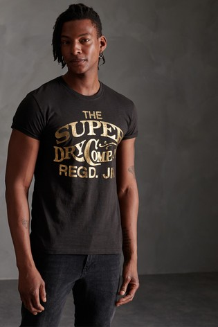 Superdry Workwear Metallic T-Shirt