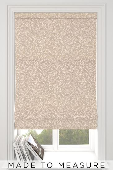 Inspira Champagne Natural Made To Measure Roman Blind