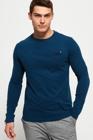 Superdry Orange Label Vintage Embroidery Long Sleeve T-Shirt