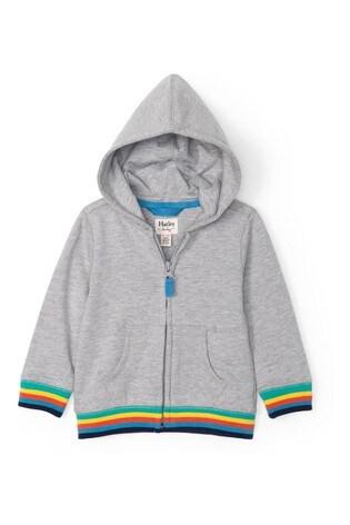 Hatley Grey Retro Stripe Baby Hoody
