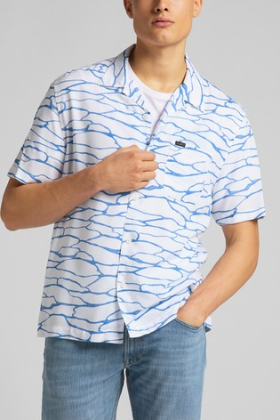 Lee Short Sleeve Relaxed Fit Resort Shirt