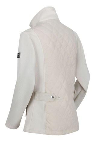 Regatta Cream Zuzela Full Zip Fleece Sweater