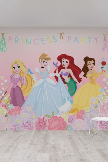 Disney™ Princess Party Mural by Art For The Home