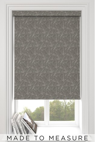 Sully Pewter Grey Made To Measure Roller Blind