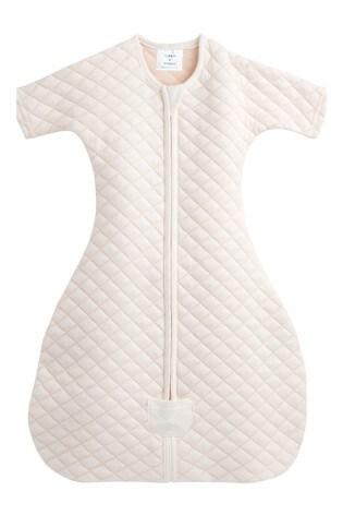 aden + anais Cream Snug Fit Sleeved Sleeping Bag 1.5 Tog