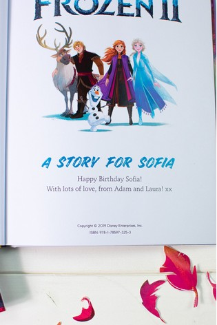 Personalised Disney™ Frozen 2 Hardback Book by Signature Book Publishing