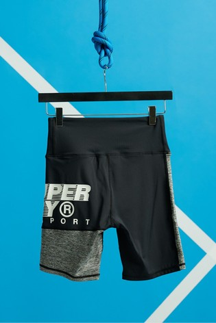 Superdry Training Graphic Tight Shorts