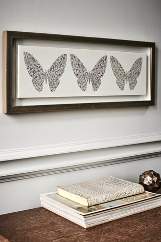 Small  Diamond Butterfly Canvas