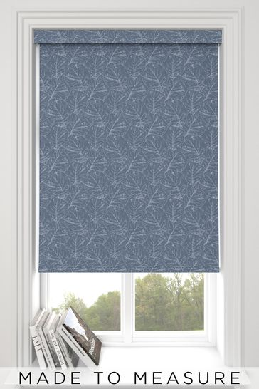 Sully Marine Blue Made To Measure Roller Blind