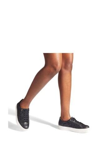 Carvela Comfort Black Lumos Trainers