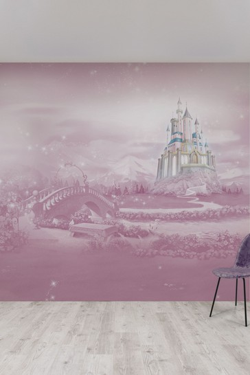 Disney™ Princess Castle Mural by Art For The Home