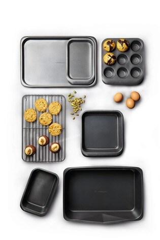 7 Piece Masterclass Smart Space Non Stick Bakeware Set