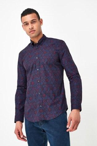 Ben Sherman Port Foulard Print Shirt