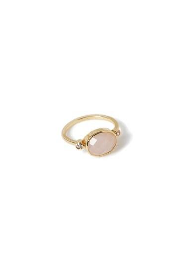 Aela Semi Precious Rhinestone Ring