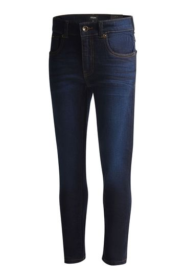 Lyle & Scott Boys Blue Skinny Fit Classic Jeans