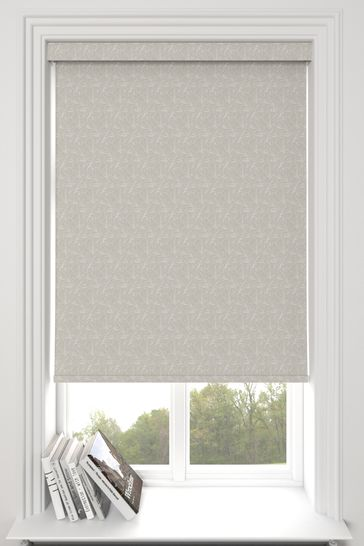 Sully Pebble Grey Made To Measure Roller Blind
