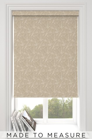 Sully Taupe Natural Made To Measure Roller Blind
