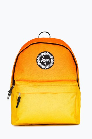 Hype. Yellow Sunshine Speckle Backpack