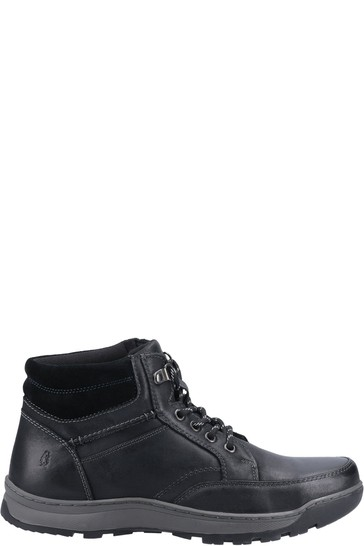 Hush Puppies Black Grover Shoes