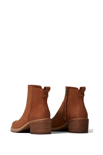 TOMS Marina Leather Ankle Boots