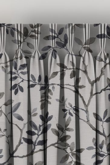 Phoebe Denim Blue Made To Measure Curtains