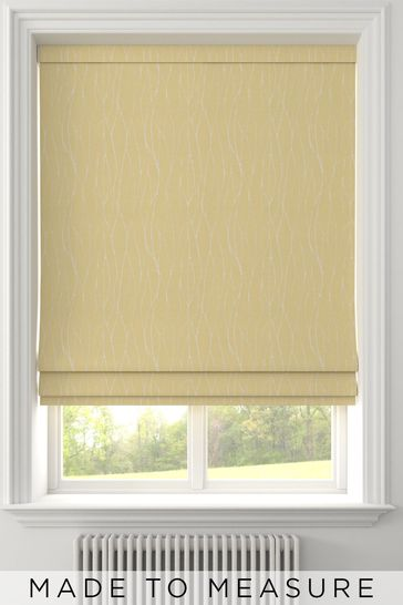 Legna Zest Gold Made To Measure Roman Blind
