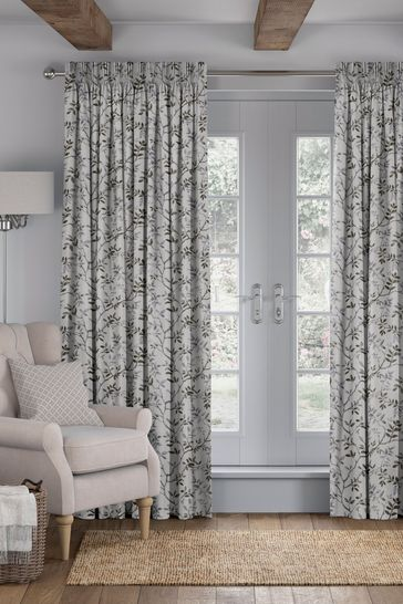 Phoebe Nordic Green Made To Measure Curtains