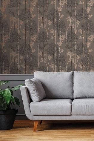 Art For The Home Brown Superfresco Easy Eternal Wallpaper