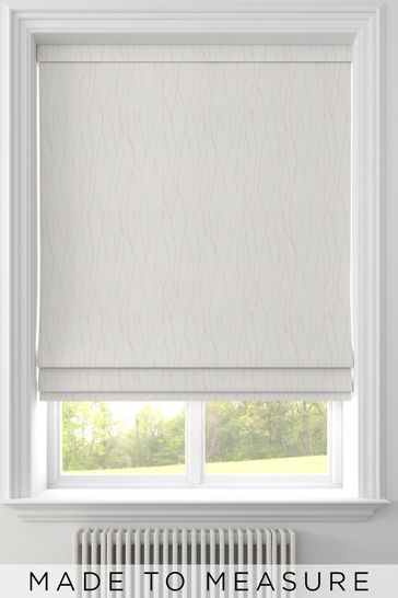 Legna Champagne Natural Made To Measure Roman Blind