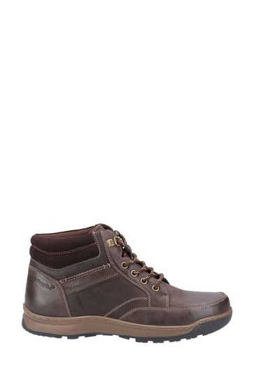 Hush Puppies Brown Grover Shoes