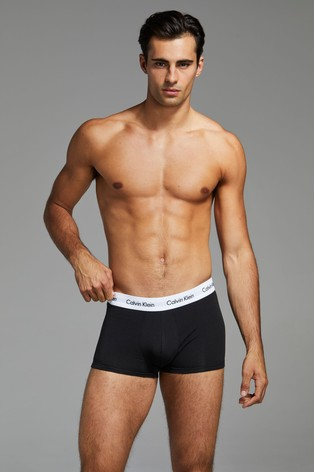 Calvin Klein Low Rise Trunk Three Pack