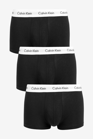 Calvin Klein Low Rise Trunk Three Pack
