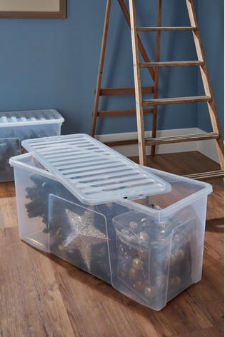 Set of 2 Crystal 133L Boxes by Wham