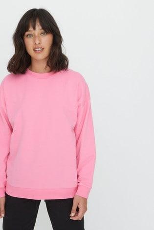 Oliver Bonas Super Soft Pink Sweatshirt