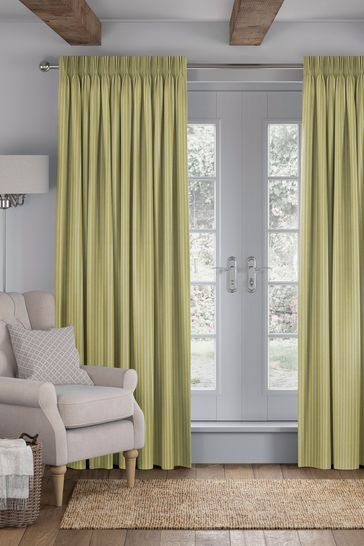 Nestor Sorbet Yellow Made To Measure Curtains