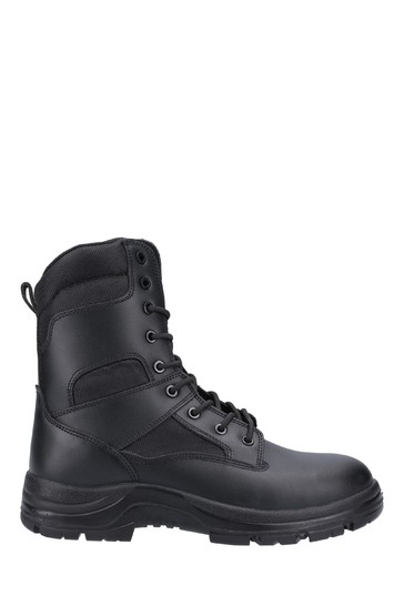 Amblers Safety Black FS009C Water Resistant Lace-Up Safety Boots