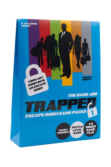 Trapped Escape Room Game Pack The Bank Job
