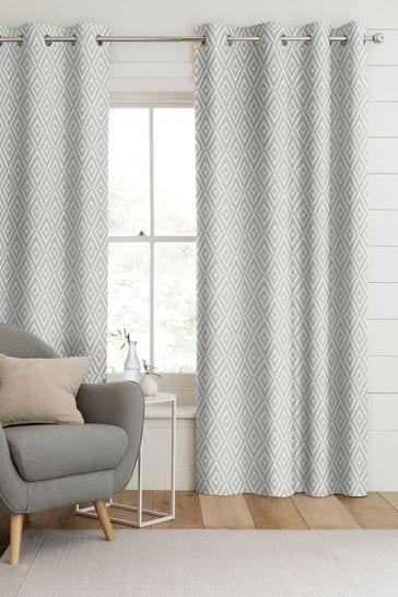 Nina Dove Grey Made To Measure Curtains