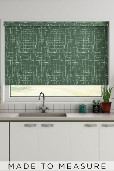 Imperial Emerald Green Made To Measure Roller Blind