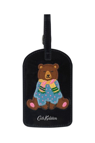 Cath Kidston® Blue Bears Luggage Tag