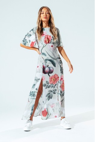 Hype. Womens Multi Large Scale Floral Dress