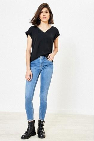 Oasis Blue Jade Skinny Jeans