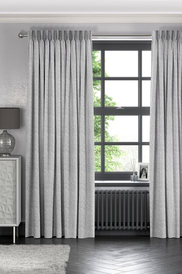 Dove Grey Noah Made To Measure Curtains