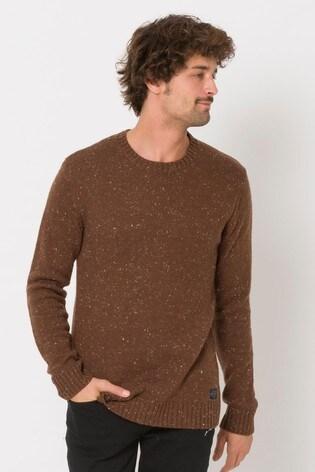 Animal Brown Smedmore Knitted Jumper