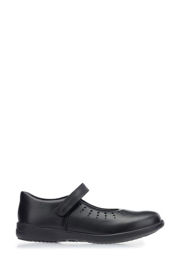 Start-Rite Mary Jane Black Leather Standard Fit Shoes