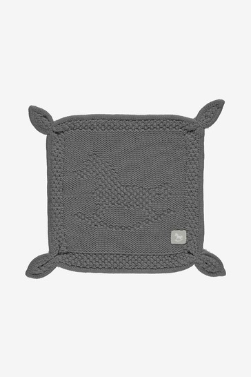 The Little Tailor Charcoal Blankie Comforter